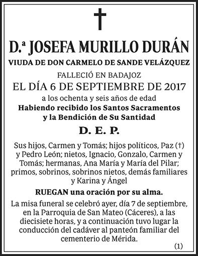 Josefa Murillo Durán